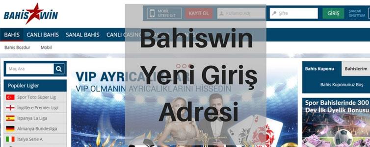 Bahiswin Yeni Giriş Adresi