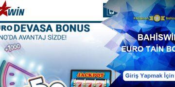 Bahiswin Euro Tain Casino Bonusu 100 Euro