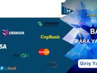 Bahiswin Para Yatırma ve Para Çekme